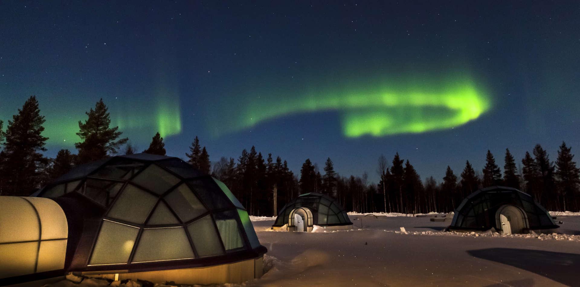 Erlebnisreisen nach Finnland, Kakslauttanen Arctic Resort