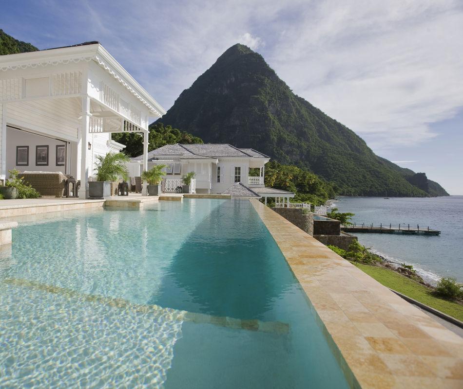 St. Lucia Sugar Beach a Viceroy Resort, Luxushotel St. Lucia, Luxushotel Karibik
