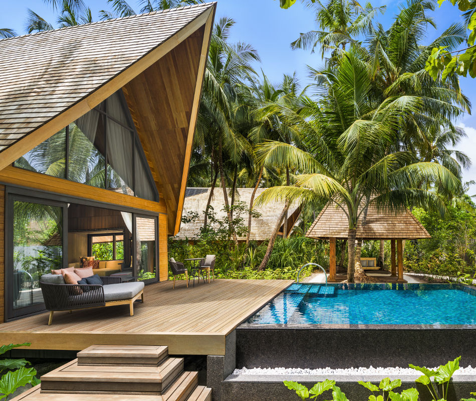 Luxushotel Malediven, St. Regis Vommuli Resort Malediven