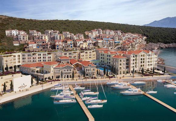 The Chedi Luštica Bay Montenegro, Luxushotel Montenegro, Hotel Bucht von Kotor