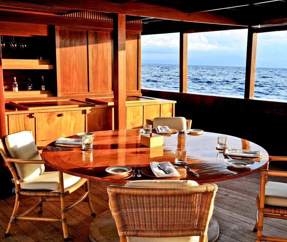 Amanikan Kreuzfahrtschiff, Luxusreise Indonesien, Luxuskreuzfahrt, Luxusreise
