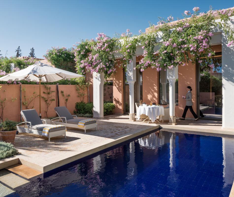 Luxusurlaub in Marokko - Oberoi Marrakech