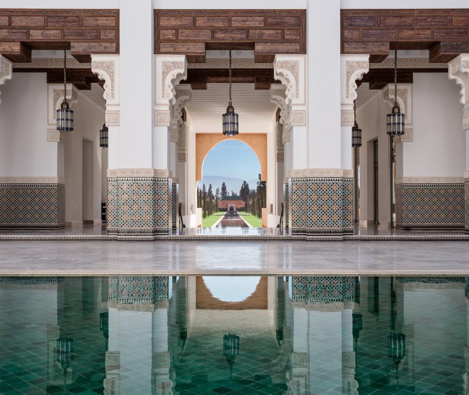 Luxusurlaub in Marokko - The Oberoi Marrakech