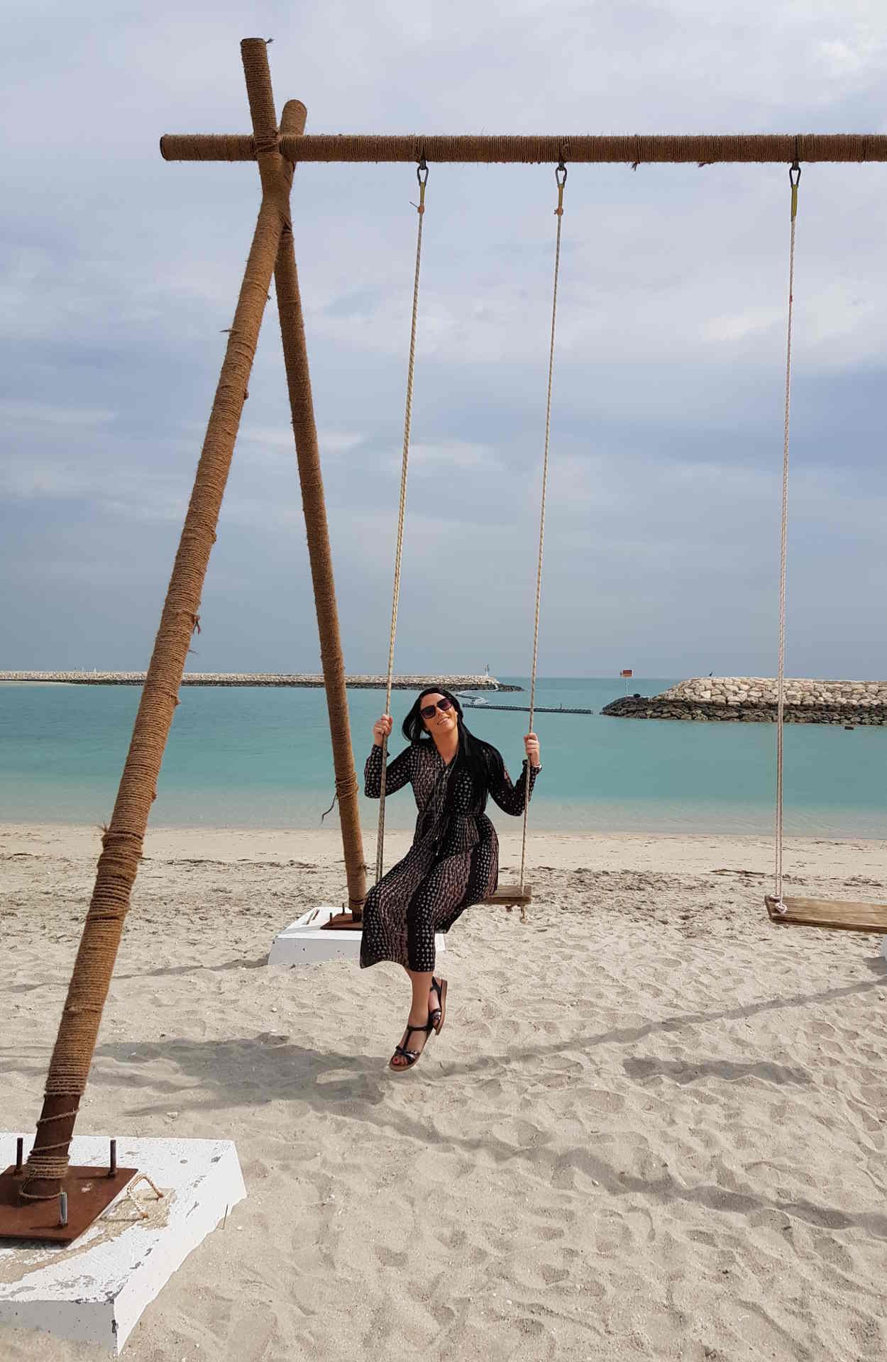 Unsere Kollegin in Bahrain
