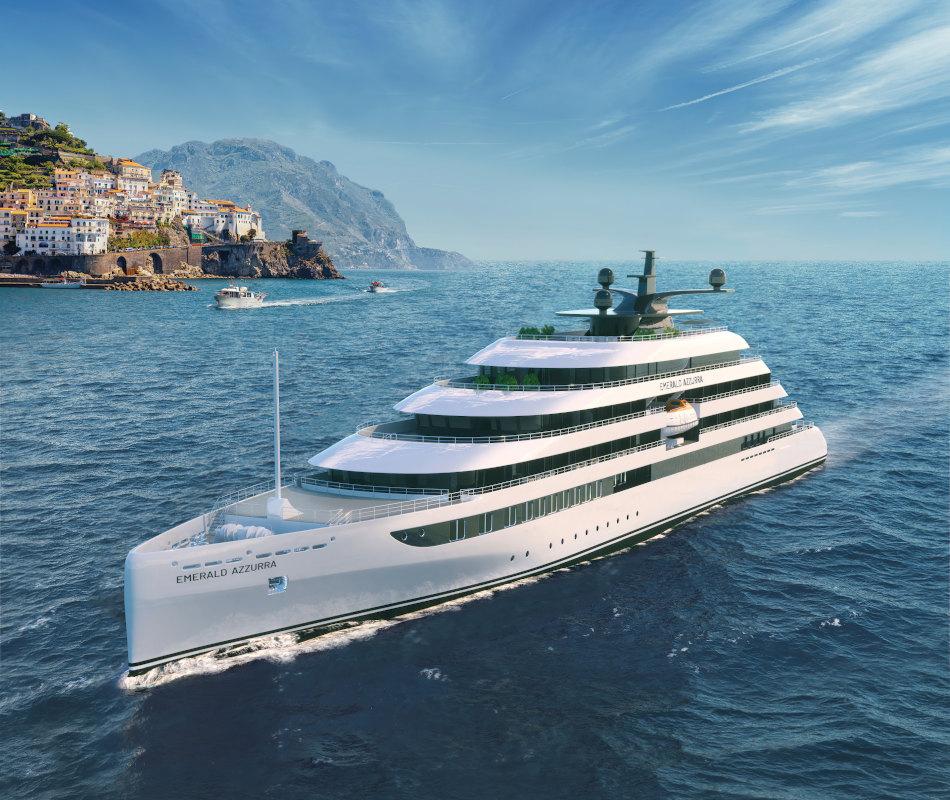 Luxus-Kreuzfahrt mit der Emerald Azzurra