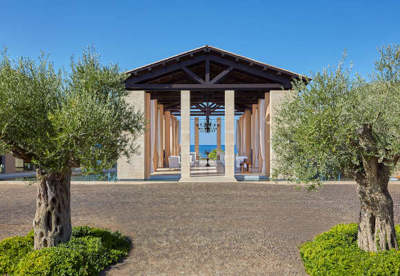 Luxushotel The Romanos Costa Navarino Griechenland