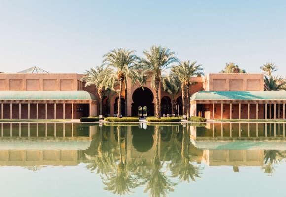 Luxushotel Amanjena Marrakesch